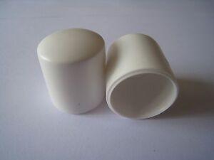 25mm-10pcs Round Plastic End Cap Black,Caps Tube  Pipe