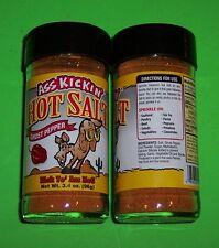 GHOST PEPPER HOT SALT SEASONING,3.4 OZ SPICE JAR, SPICY & SALTY-ASS KICKIN' GOOD