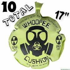 "10 Pieces -17"" Mega Whoopee Cushion Giant Jumbo Whoopie Gas Joke Big Fart Sound"