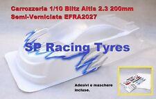 Carrozzeria 1/10 BLITZ ALTIS 2.3 200mm Semiverniciata Bianca cod. T60109SW per 1
