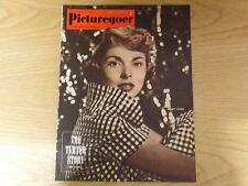 March 1952, PICTUREGOER, Janet Leigh, Elizabeth Allan, Lana Turner, Leo Genn.