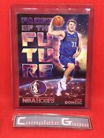 2018-19 Panini NBA Hoops Faces Of The Future #3 Luka Doncic Rookie RC