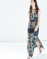 Zara Floral Plus Size Maxi Dresses for Women