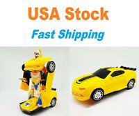 Transformer Bumblebee, Robot, Chevy Camaro, Light&Sound, Bump&Go, Battery, 8.5''