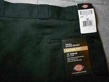 5017a0a928 NEW DICKIES WORK SHORTS 50 black NO IRON LOOSE FIT FLAT men's mens NWT