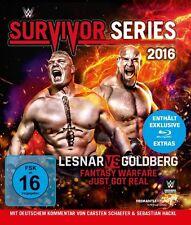 Blu-ray * WWE - SURVIVOR SERIES 2016 - Brock Lesnar  vs. Goldberg # NEU OVP &