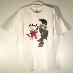 Official Afro Samurai Promotional/Pre-Order White T-Shirt - Size XL