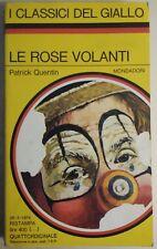 LIBRO PATRICK QUENTIN - LE ROSE VOLANTI - IL GIALLO MONDADORI 187