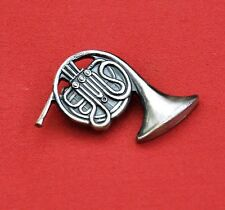 Mini French Horn Badge, New