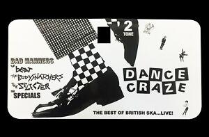 Tool Box Glove Box Sticker fits Vespa PX T5 LML Scooter - Dance Craze Decal TB55