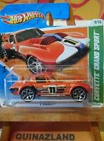 hot wheels Treasure Hunt Corvette Grand Sport 059-2011 (CP19)