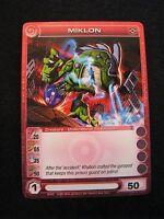 Chaotic Trading Card MIKLON Creature 44/232 MINT