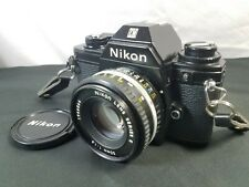Vintage Nikon EM 35mm Film Camera w/50mm 1:1.8 E Series Lens