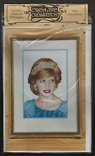 PRINCESS DIANA CROSS STITCH KIT - FAMOUS PATTERN, MATERIAL, THREAD, INSTRUCTIONS