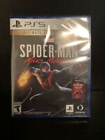 Spider-Man Miles Morales PS5 Ultimate Launch Edition BRAND NEW SEALED