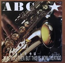 """ABC – That Was Then But This Is Now Japan 7"""" Vinyl 7PP-120 Rare!!!"""