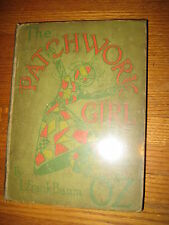 The Patchwork Girl of Oz 1913, L. Frank Baum, 1st. Ed., 1st.State