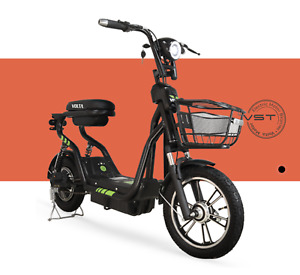 New Electric Bike 48V Battery Capacity 220W Motor Power Twist Throttle  E-Bike