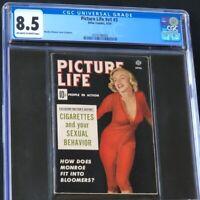Picture Life V1 #3 (Atlas 1954) | CGC 8.5 | 2ND HIGHEST Marilyn Monroe Magazine