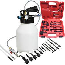 6L Two Way Gear Box Engine Oil Pneumatic Extract & Fills Fluid ATF 13pc Adaptors
