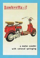 ADVERTISEMENT  -  LAMBRETTA  MOTOR  SCOOTER  -  MODEL  B