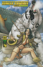 Jungle Fantasy Annual Tundra Variant Remarqued by Zanier Boundless Comics Sketch