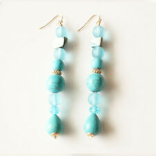 New Chicos Mixed Beads Drop Dangle Earrings Long Gift Fashion Lady Party Jewelry