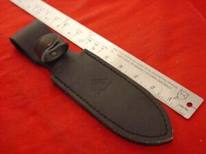 """Puma Germany 10"""" Leather Fixed Blade Knife Sheath MINT"""