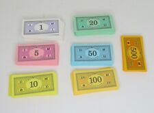 1998 Monopoly Deluxe Edition Replacement Play Money Bills Monopoly Money