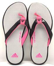 Adidas Slide Cloudfoam Ultra Gray Pink Black US Size 1 FREE SHIPPING BRAND NEW