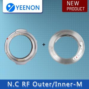 YEENON Nikon RF (Contax RF) inner /outer to M Adapter
