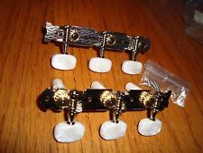 NEW 3 TO A SIDE CLASSICAL GUITAR MACHINE HEADS TUNERS PARTS BUILD REPAIR RESTORE