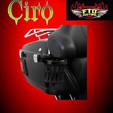 CIRO Black Cup Holder for Harley Touring 2014-2019 50422