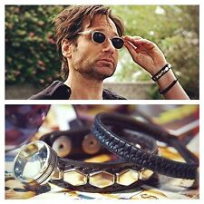 Hank Moody Leather Bracelets Californication David Duchovny Cuff Wristband