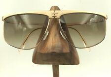 036da5d3935c Vintage Laura Biagiotti Gold Metal Oversized Brow Eyeglasses Sunglasses  Frames