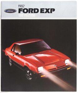 Ford 1982 EXP Dealer Sales Brochure