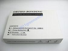 1 set orthodontic light cure adhesive,orthodontic bonding material for brackets