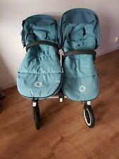 2015 Bugaboo donkey duo with accessories