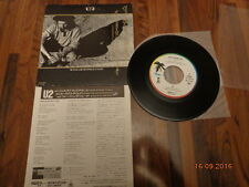"""U2 - WITH OR WITHOUT YOU - 1987 7"""" SINGLE JAPAN"""
