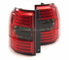 MITSUBISHI PAJERO MONTERO Rear Tail Lights Set Left Right Smoked Lamps Pair NEW