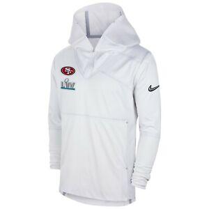 Nike San Francisco 49ers Men's NFL Super Bowl LIV 54 Media Night Hooded Jacket