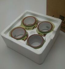 Home Interior Apple Orchard Napkin Rings With Original Box