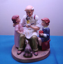 Norman Rockwell Collector's Club Annual Porcelain Figurine, The Toymaker 1981