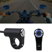 Bouton-poussoir ON OFF pour guidon moto de 22 mm pour moto avec 7/8 Durable