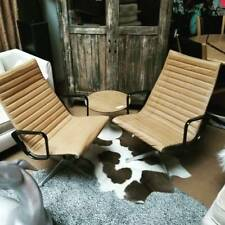 Eames Chairs Leather Mid Century Modern Vintage