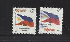 PHILIPPINES - 2216-2216A; 2217 b-n - USED -1993-1998 - NATIONAL SYMBOLS
