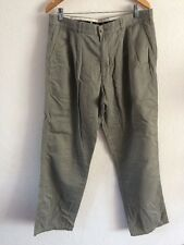 "Savvy Mens Cotton Trousers 36"" Waist Sage Green <R8706"