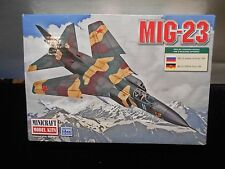 MIG-23 Model Minicraft New 2012 14655 Russian 1994 DDR Air Force 1991 1:144 Kit