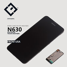 Frame Assembly Glass For Nokia Lumia 630 635 N630 N635 LCD Display Touch Screen