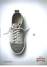 PUBLICITE ADVERTISING  2006  CAMPER la chaussure confort
